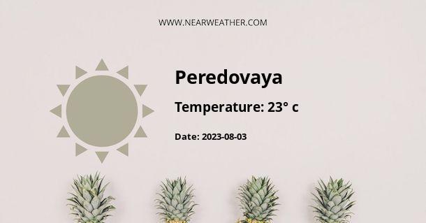 Weather in Peredovaya