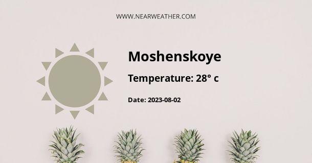 Weather in Moshenskoye