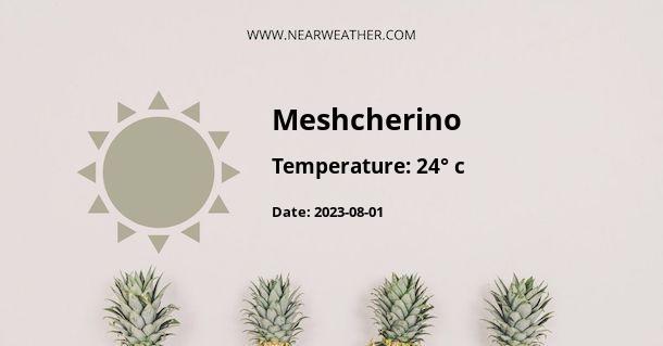Weather in Meshcherino