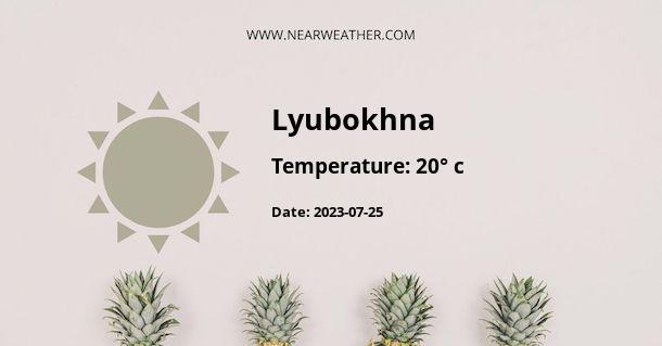 Weather in Lyubokhna