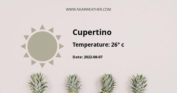 Weather in Cupertino