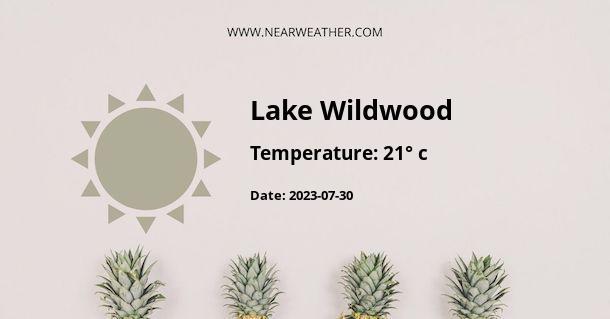 Weather in Lake Wildwood
