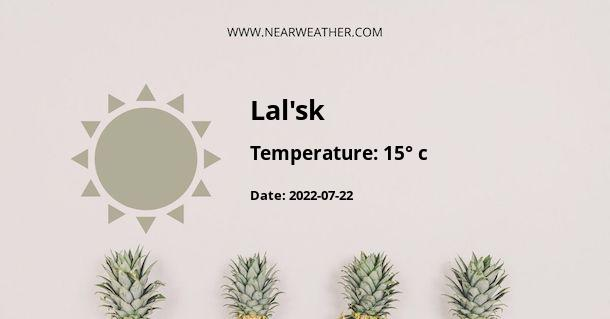 Weather in Lal'sk