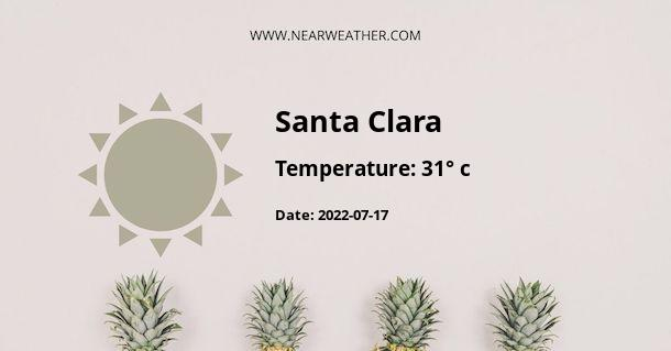 Weather in Santa Clara