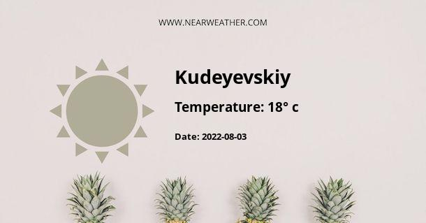 Weather in Kudeyevskiy