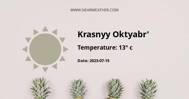 Weather in Krasnyy Oktyabr'
