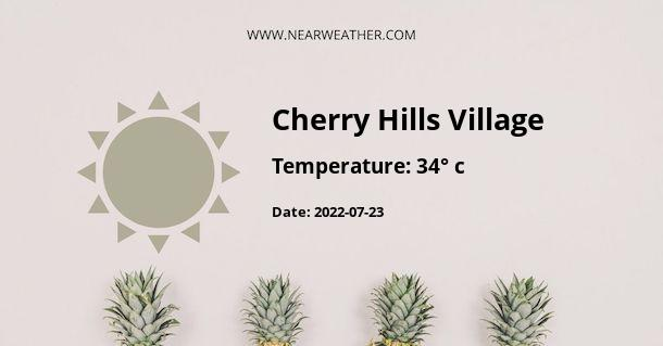 Weather in Cherry Hills Village