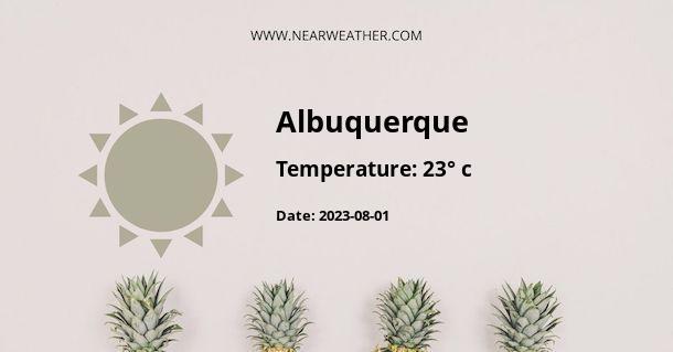 Weather in Albuquerque