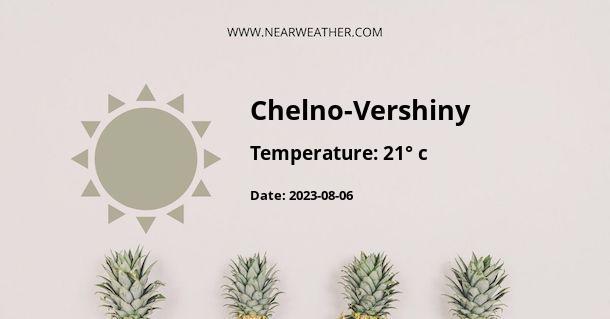 Weather in Chelno-Vershiny