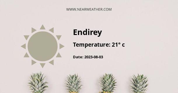 Weather in Endirey