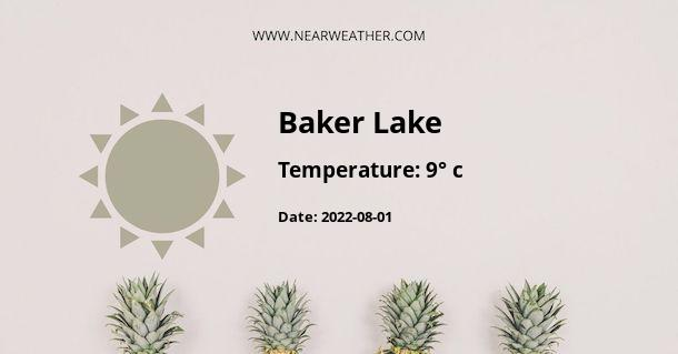 Weather in Baker Lake