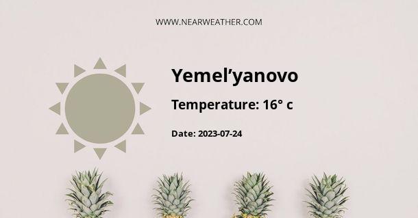 Weather in Yemel'yanovo