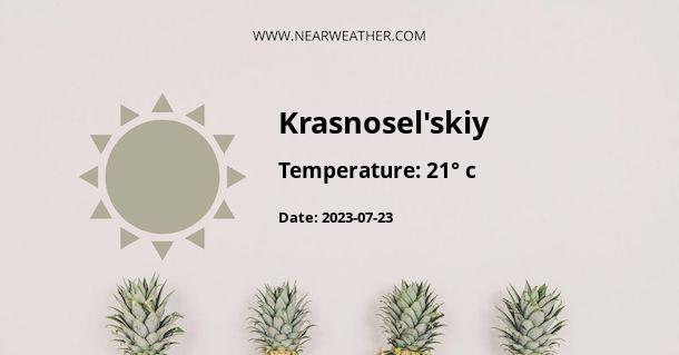 Weather in Krasnosel'skiy