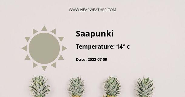 Weather in Saapunki