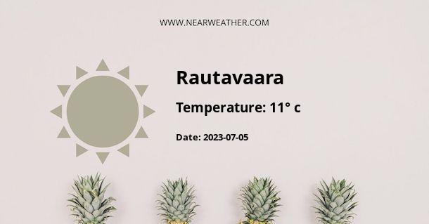 Weather in Rautavaara