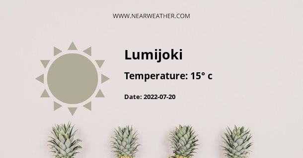 Weather in Lumijoki