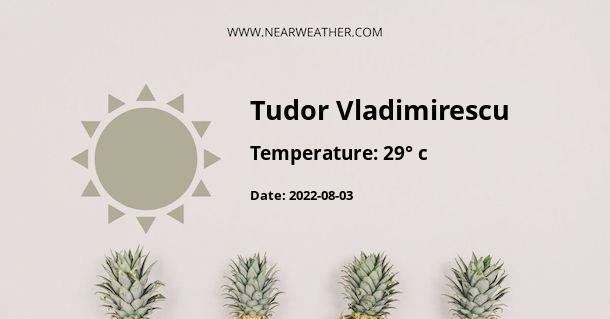 Weather in Tudor Vladimirescu