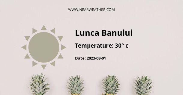 Weather in Lunca Banului