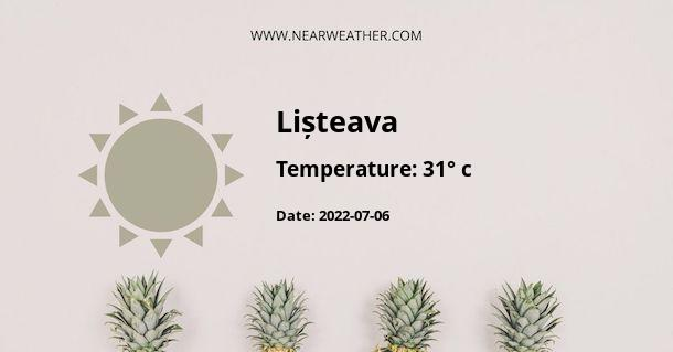 Weather in Lișteava