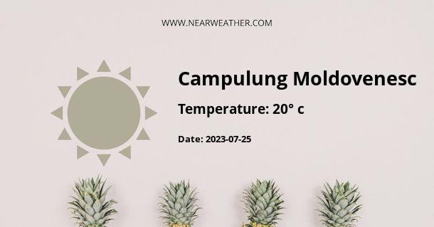 Weather in Campulung Moldovenesc