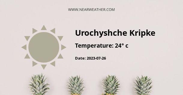 Weather in Urochyshche Kripke