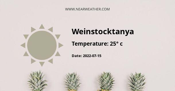 Weather in Weinstocktanya