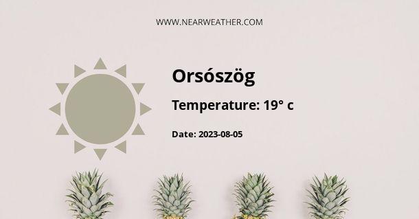 Weather in Orsószög