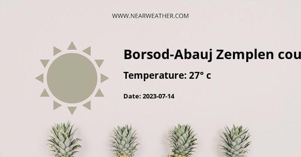 Weather in Borsod-Abauj Zemplen county