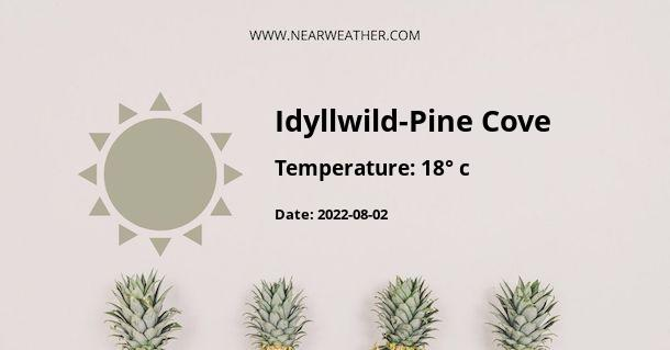 Weather in Idyllwild-Pine Cove
