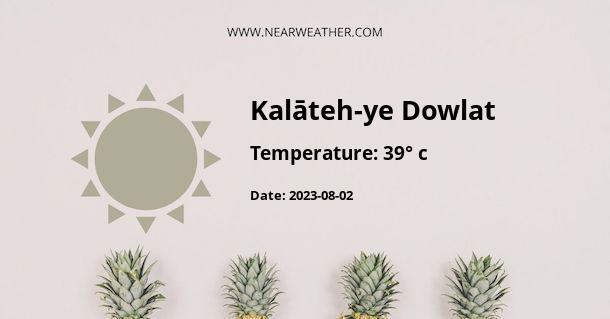 Weather in Kalāteh-ye Dowlat