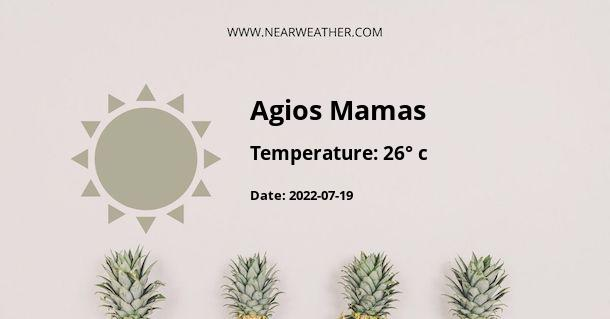 Weather in Agios Mamas