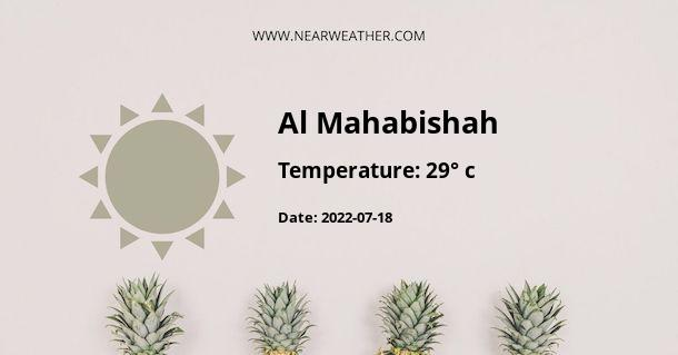 Weather in Al Mahabishah