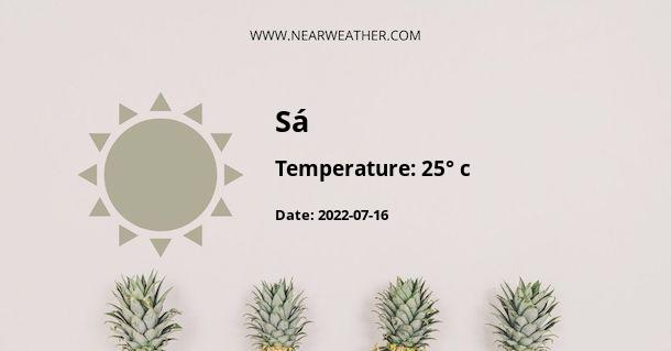 Weather in Sá